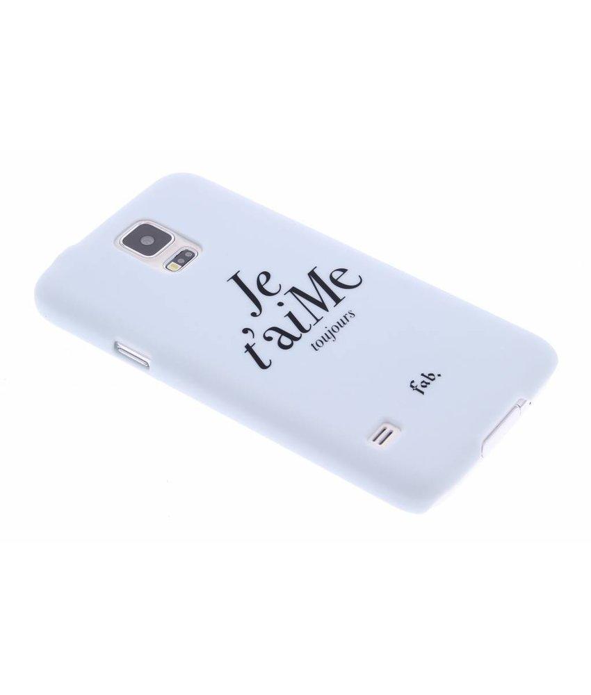 Fab. Je t'aiMe hardcase hoesje Galaxy S5 (Plus) / Neo
