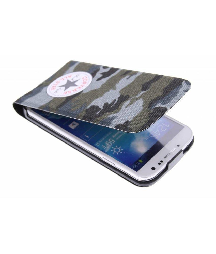 Converse Flip Case Samsung Galaxy S4 - Camo