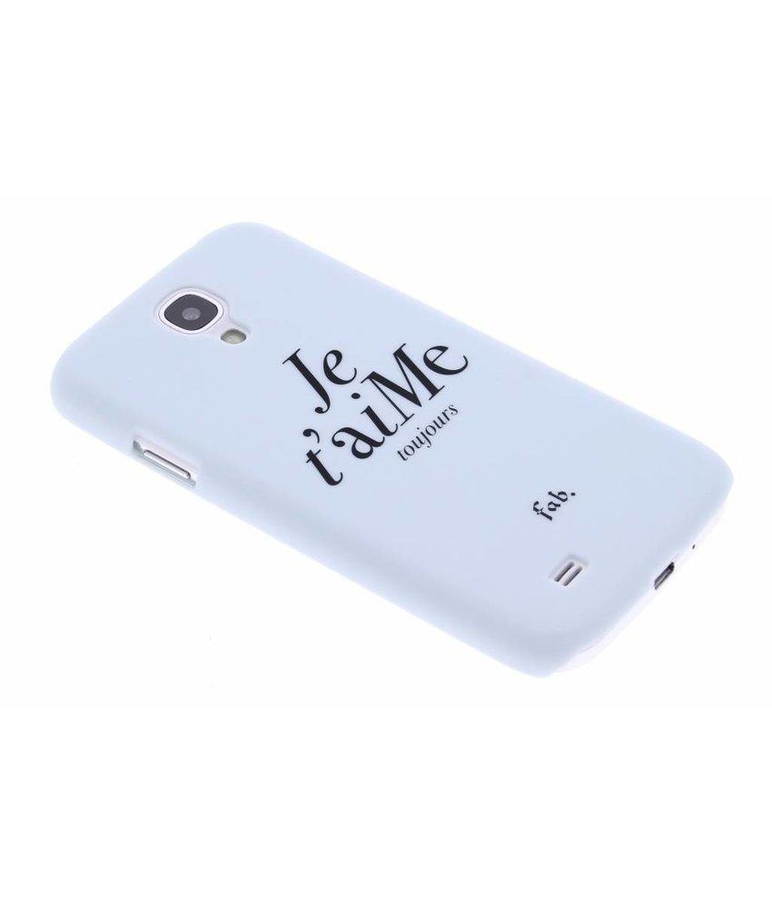 Fab. Je t'aiMe hardcase hoesje Samsung Galaxy S4