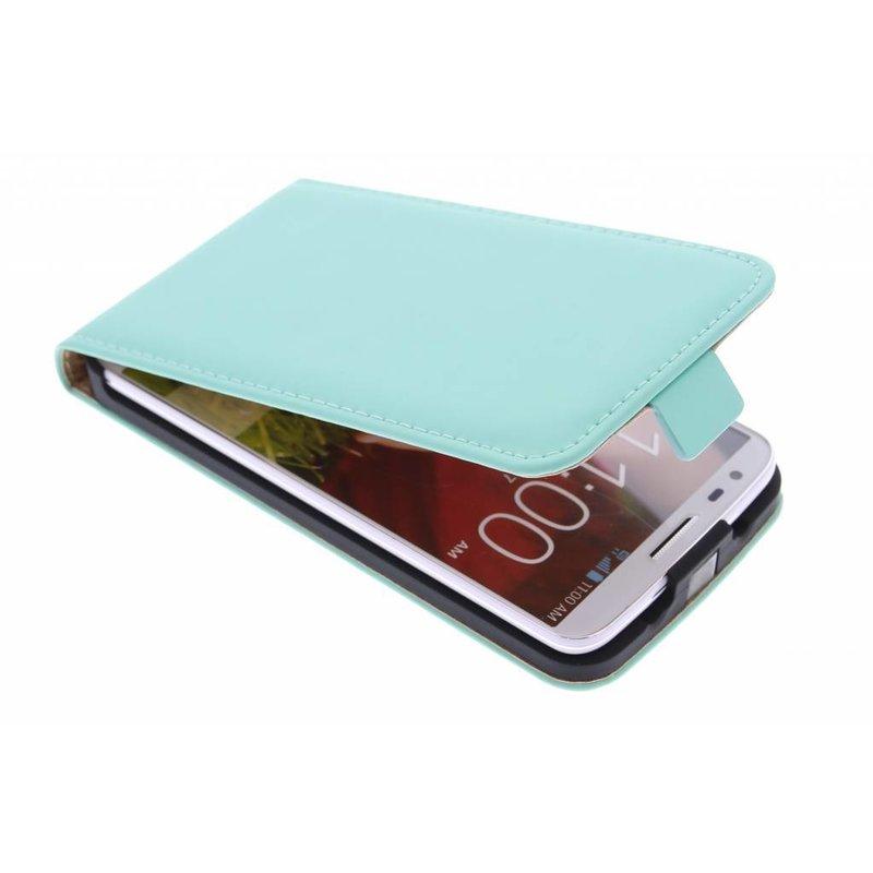 Selencia Luxe Flipcase LG G2 - Mintgroen