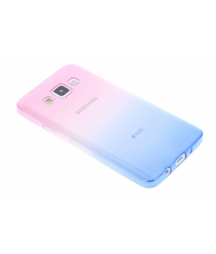 Tweekleurig TPU siliconen hoesje Samsung Galaxy A3