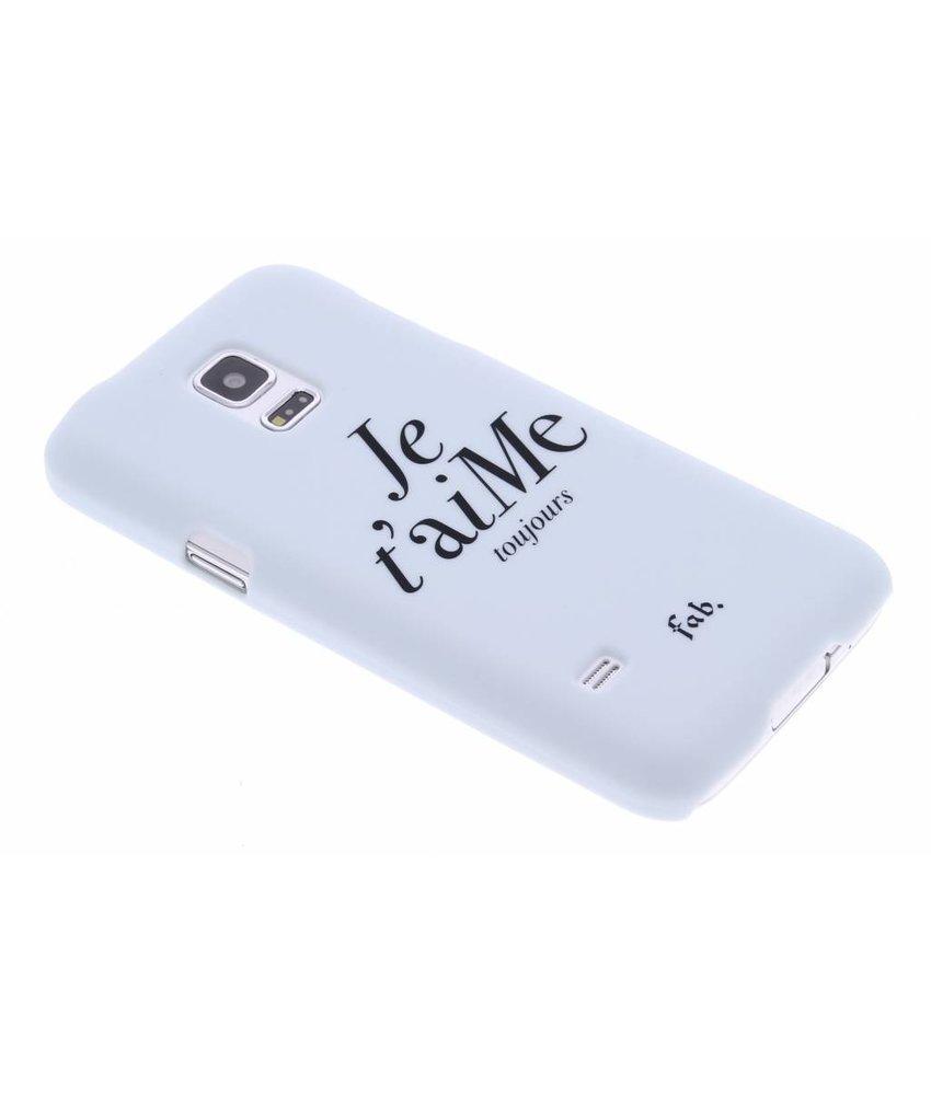 Fab. Je t'aiMe hardcase hoesje Samsung Galaxy S5 Mini