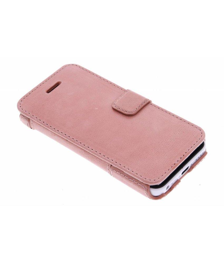 Valenta Booklet Smart iPhone 5c - Pink