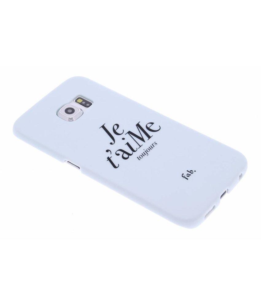Fab. Je t'aiMe hardcase hoesje Samsung Galaxy S6 Edge