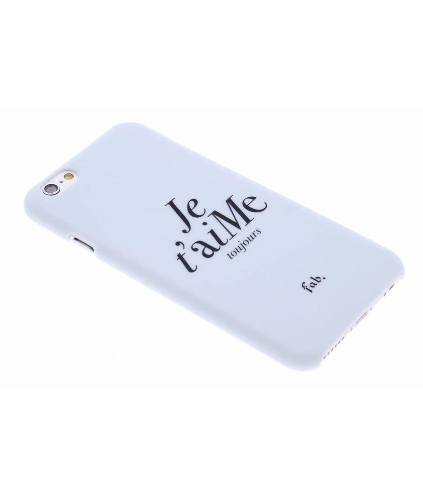 Fab. Je t'aiMe hardcase hoesje iPhone 6 / 6s