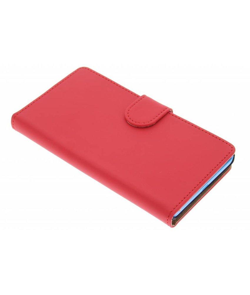 Rood effen booktype Microsoft Lumia 535