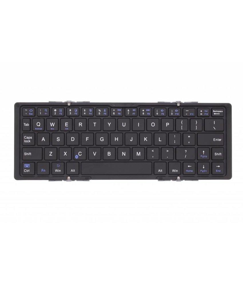 Grijs tri-folding magnetic universal bluetooth keyboard