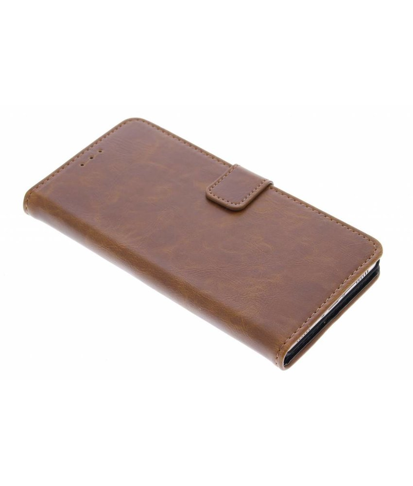 Luxe leder booktype hoes Huawei P8