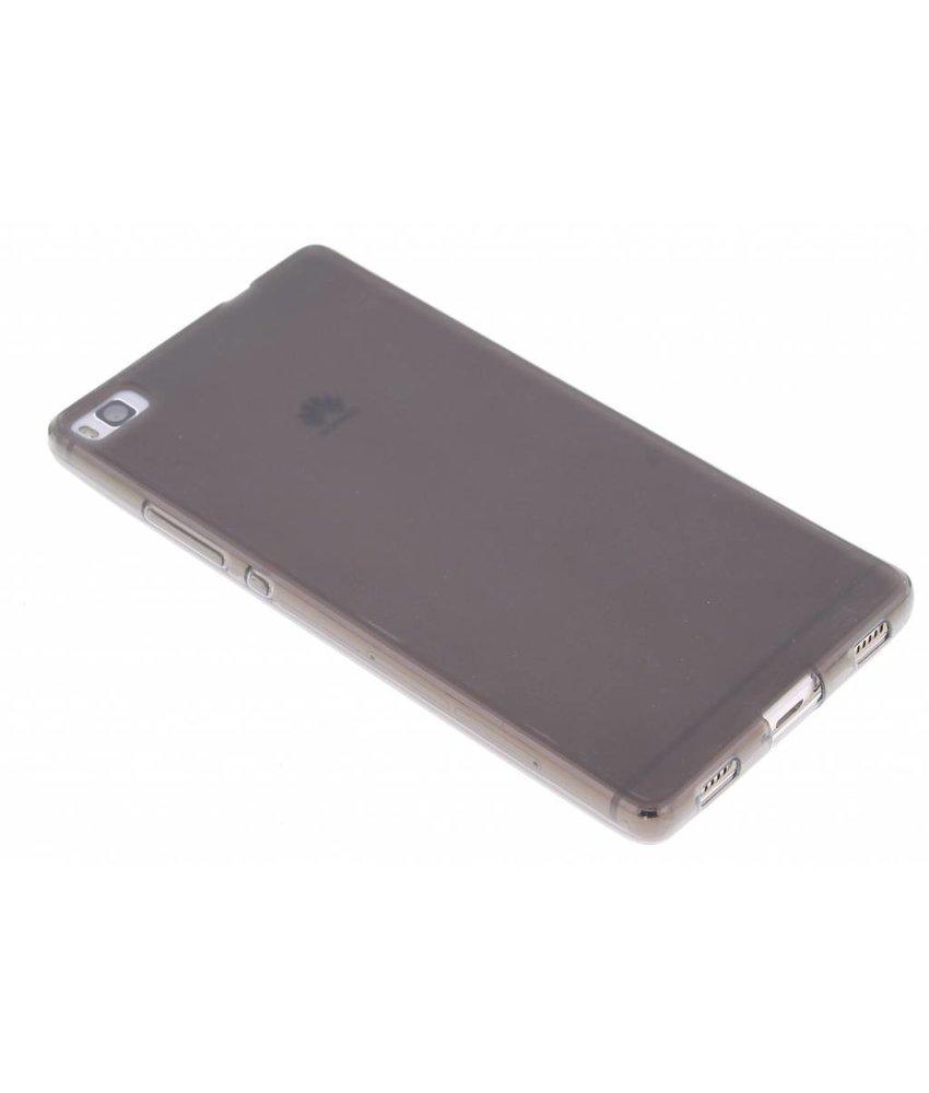 Grijs hard siliconen hoesje Huawei P8