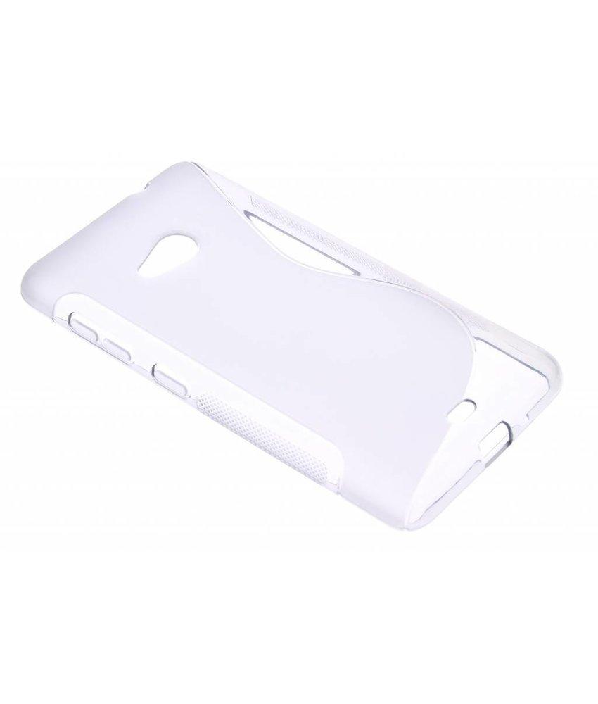 Grijs S-line TPU hoesje Microsoft Lumia 535