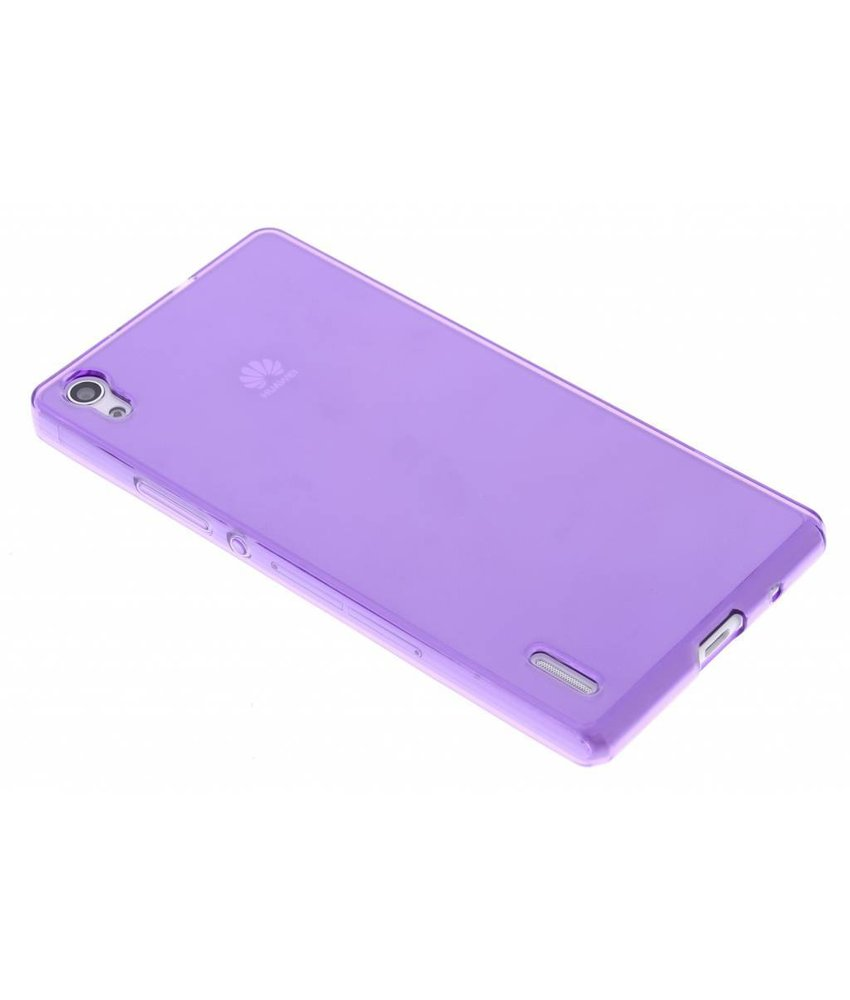 Transparant gel case Huawei Ascend P7
