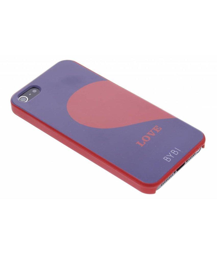 ByBi Love Left Quote hardcase hoesje iPhone 5 / 5s / SE
