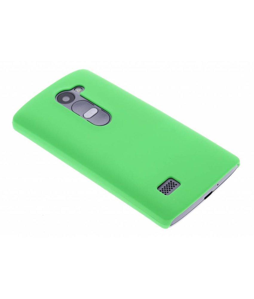 Groen effen hardcase hoesje LG Leon