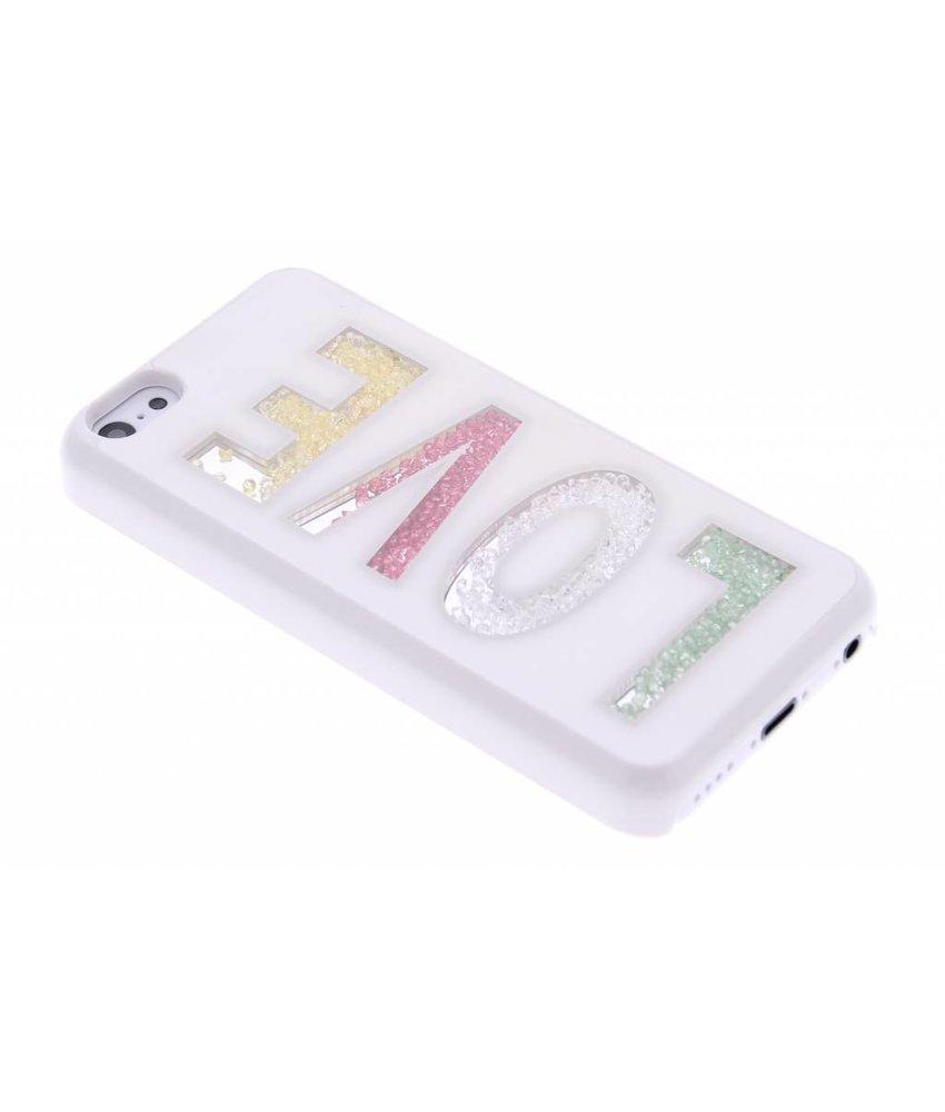 Gekleurde steentjes hardcase iPhone 5c