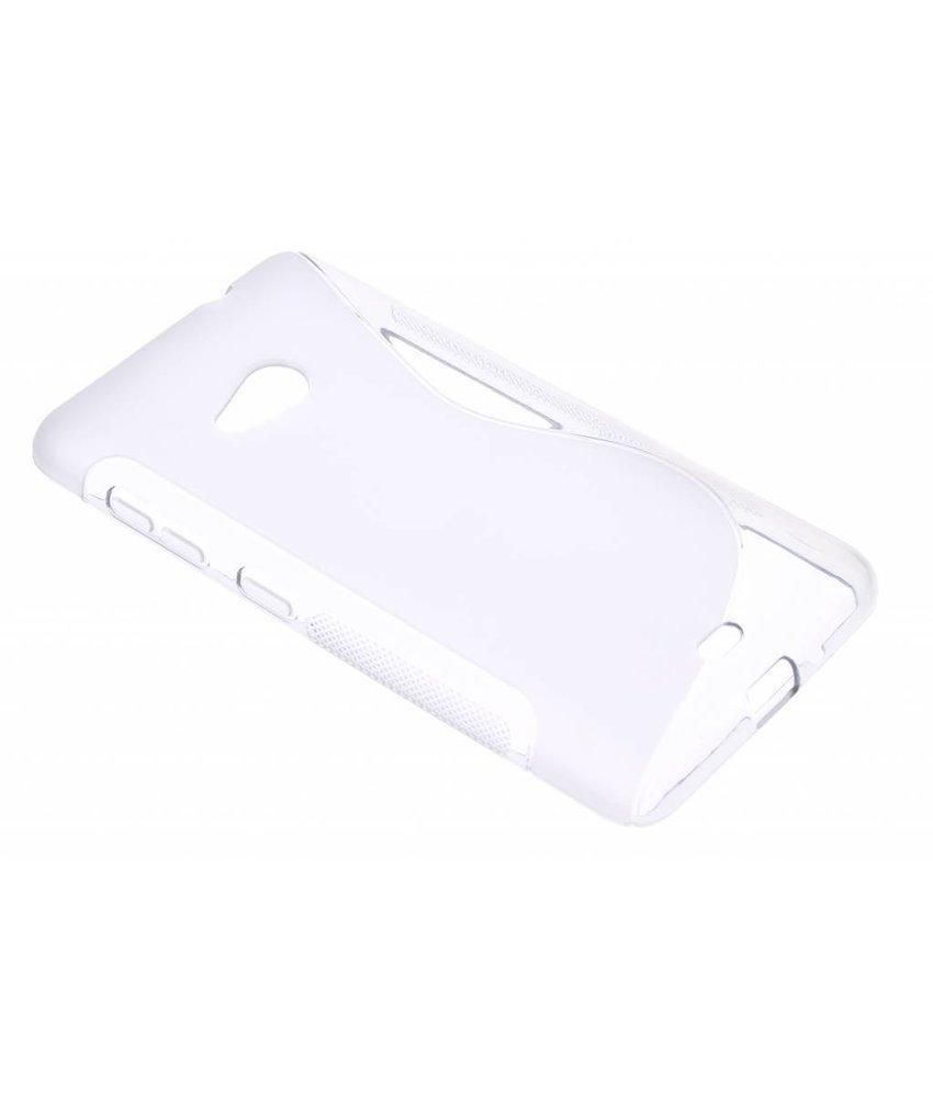 Transparant S-line TPU hoesje Microsoft Lumia 535