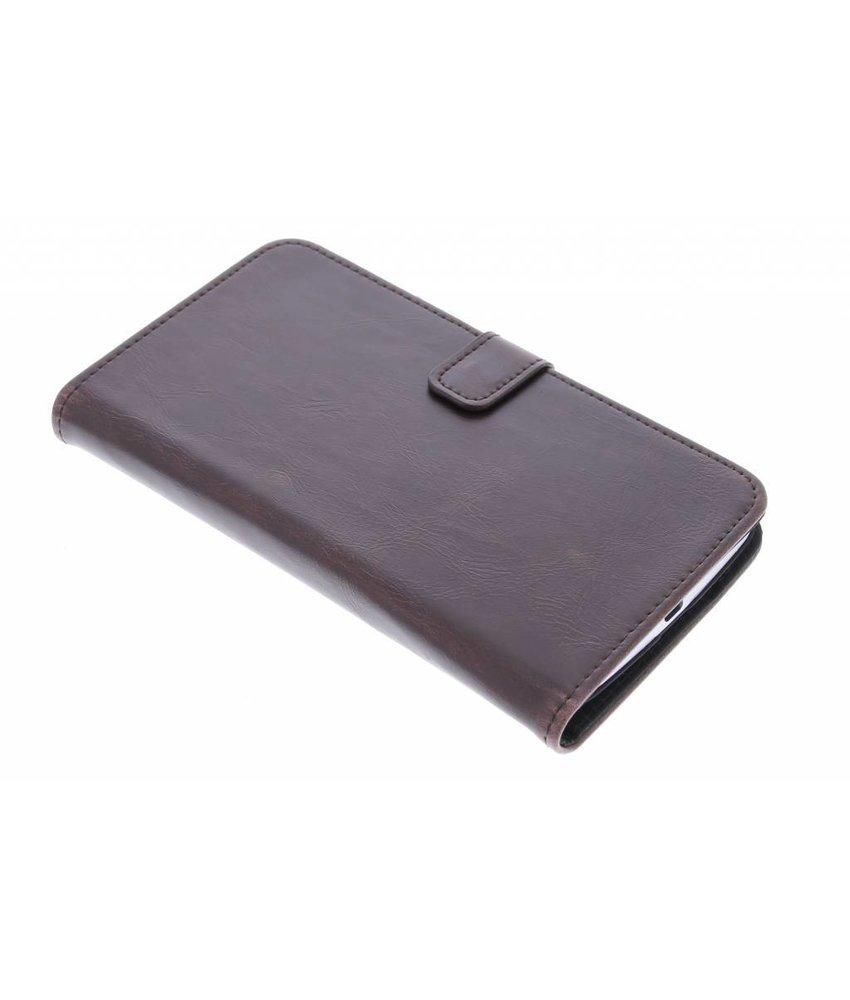 Luxe leder booktype hoes Motorola Nexus 6