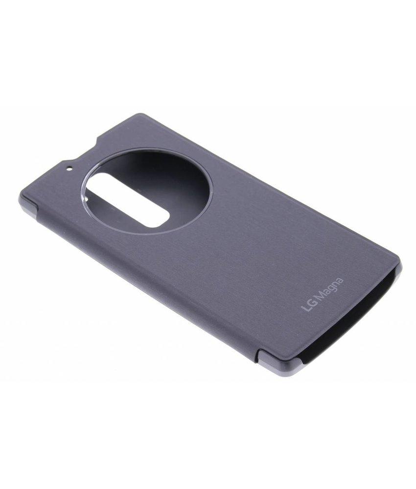 LG Quick Circle Case LG Magna / G4c - zwart