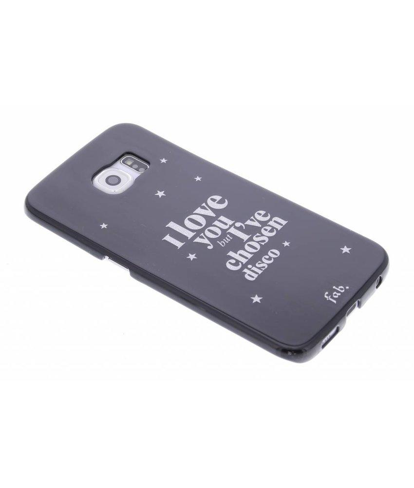 Fab. Disco Glitter hardcase hoesje Samsung Galaxy S6 Edge