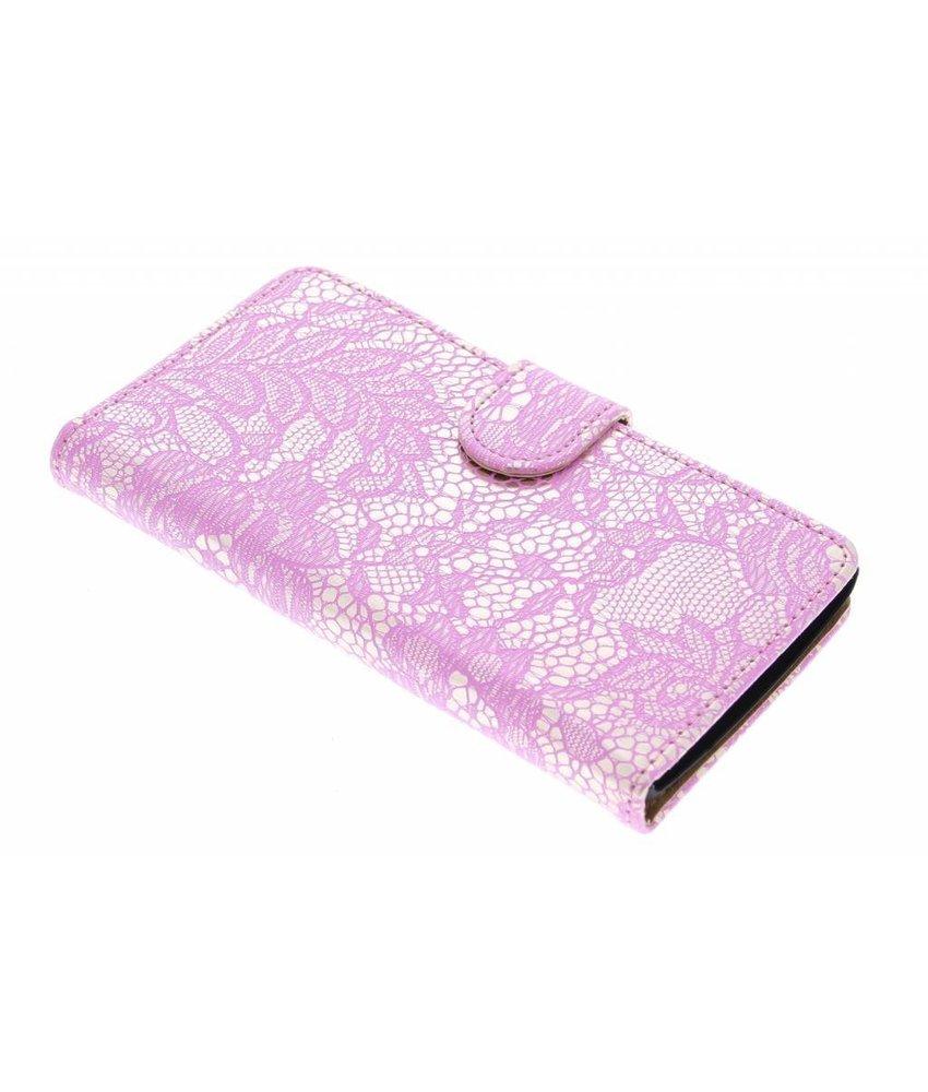 Roze glamour design booktype hoes LG Magna / G4c