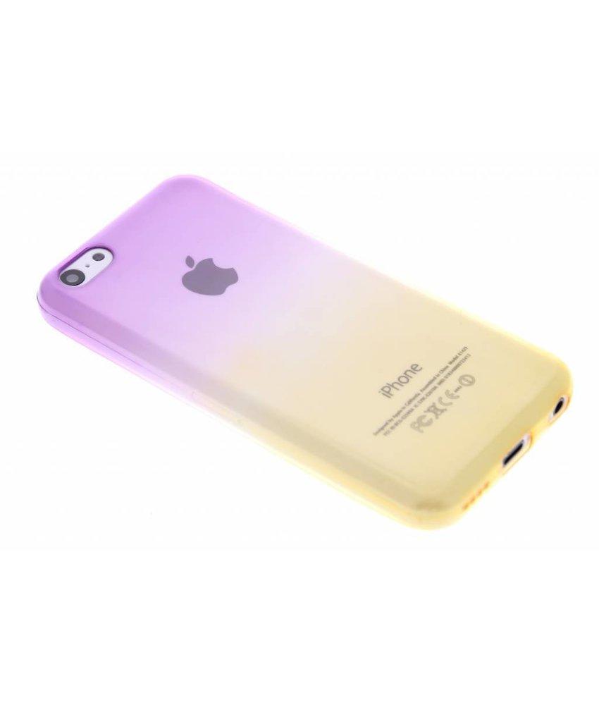 Tweekleurig TPU siliconen hoesje iPhone 5c