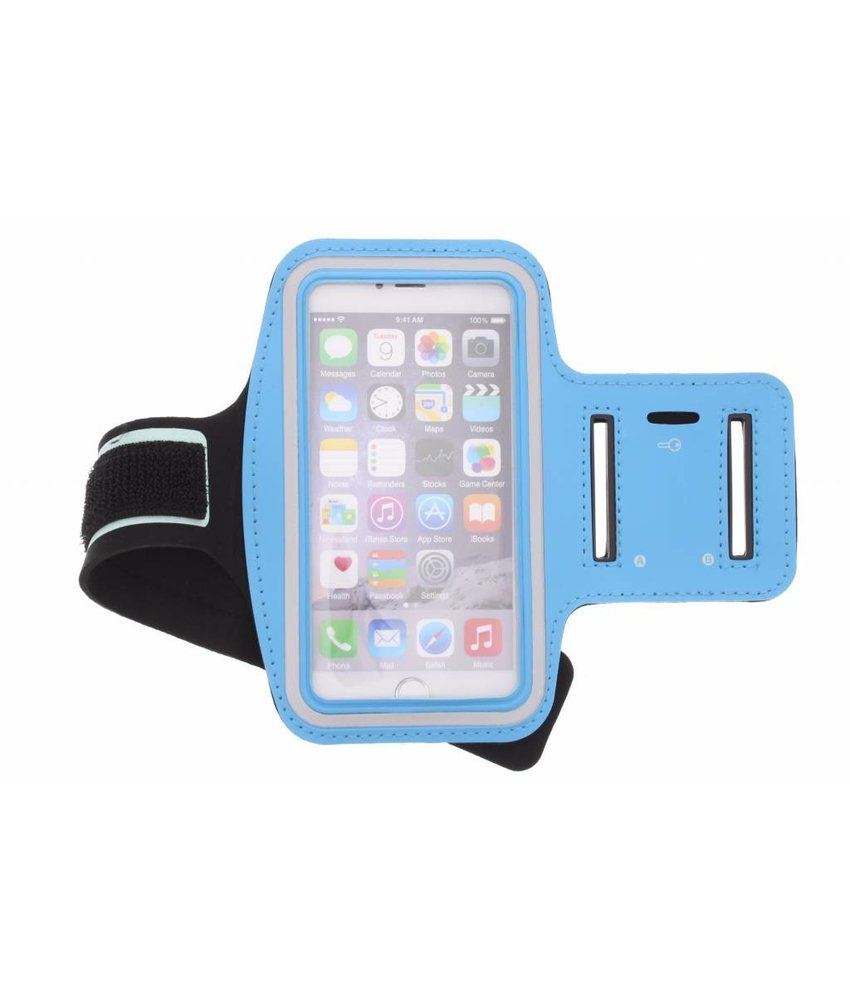 Blauw sportarmband iPhone 6(s) Plus