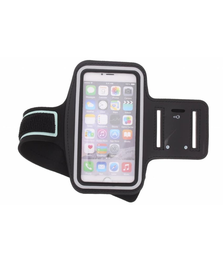 Zwart sportarmband iPhone 6(s) Plus