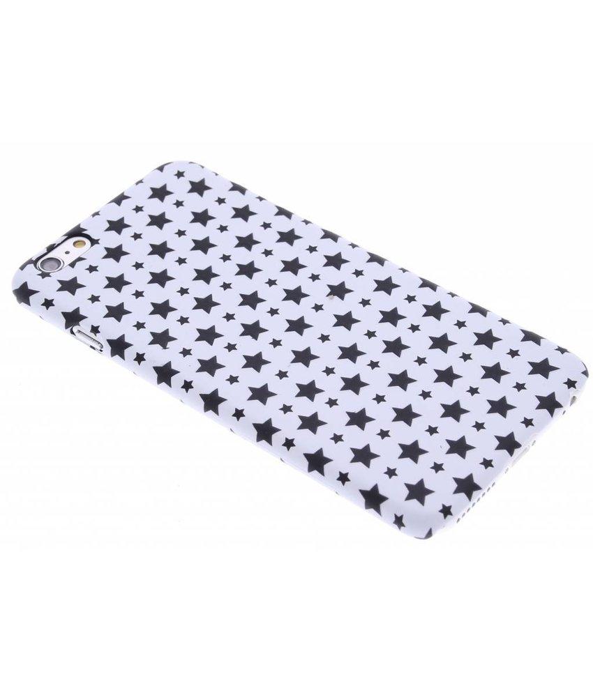 Wit sterren design hardcase hoesje iPhone 6(s) Plus