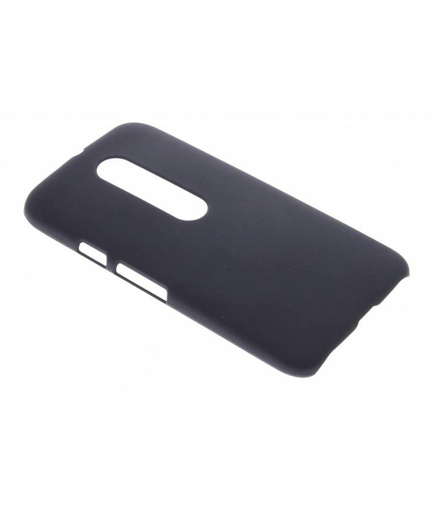 Zwart effen hardcase hoesje Motorola Moto G 3rd Gen