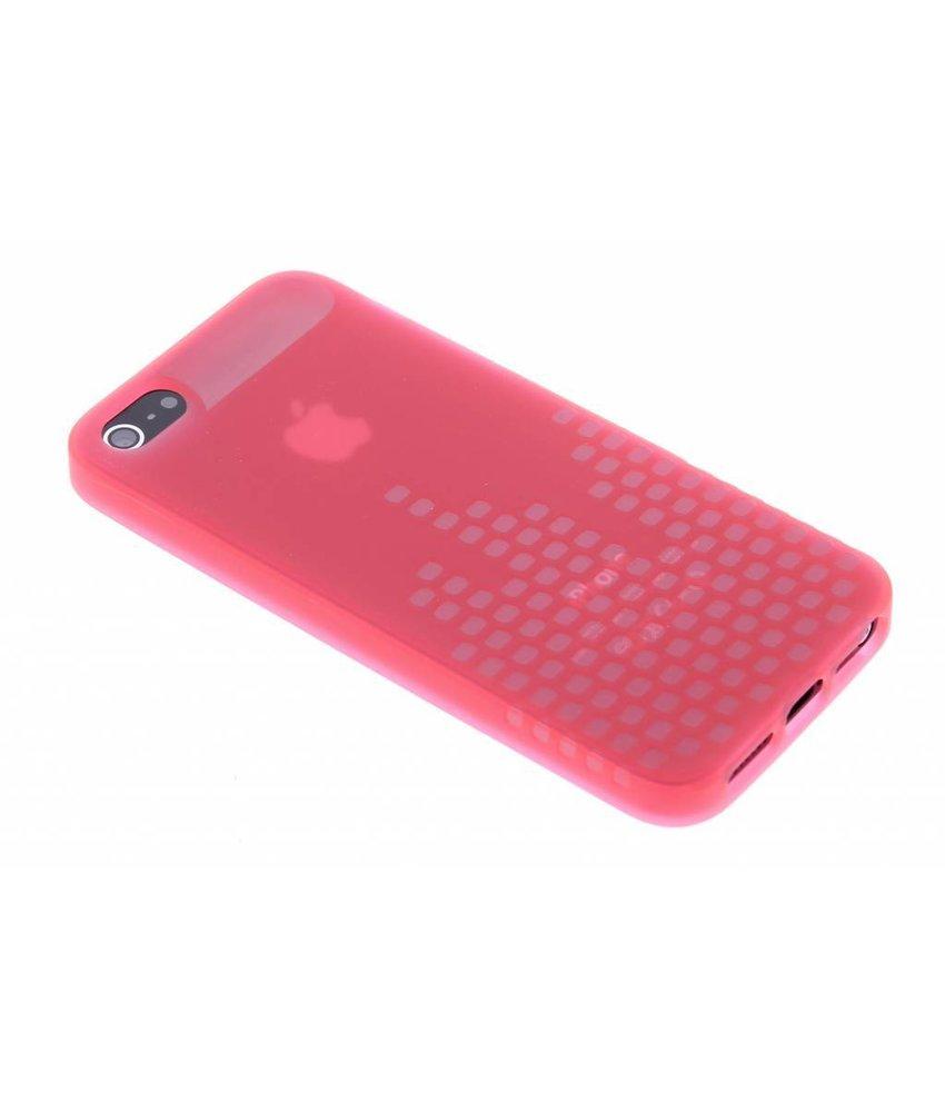 Dolce Vita Block TPU Case iPhone 5 / 5s / SE - Roze