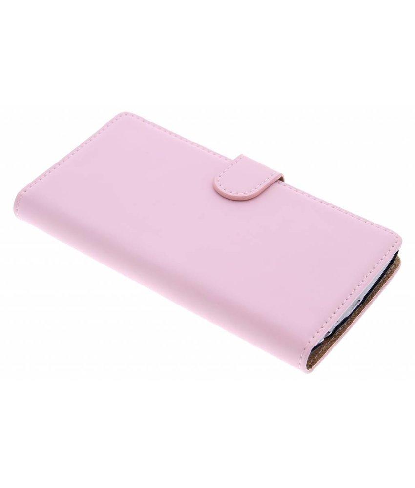 Selencia Luxe Book Case LG G4 - Poederroze