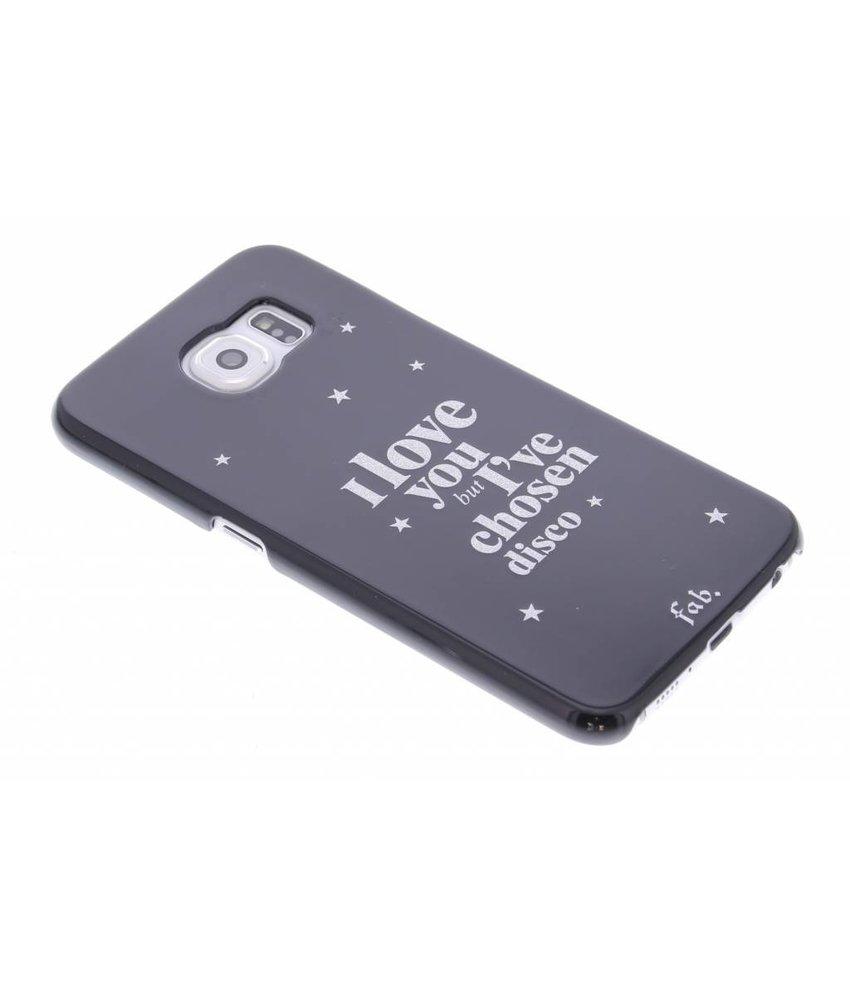 Fab. Disco Glitter hardcase hoesje Samsung Galaxy S6