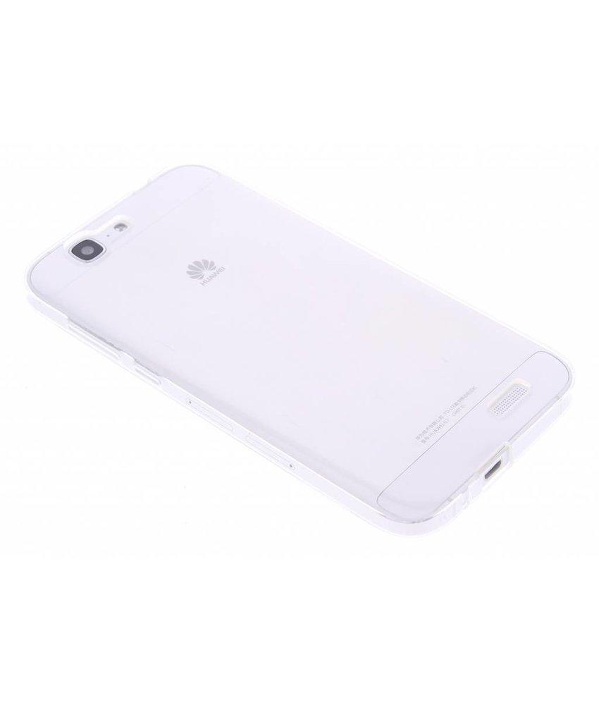 Transparant gel case Huawei Ascend G7