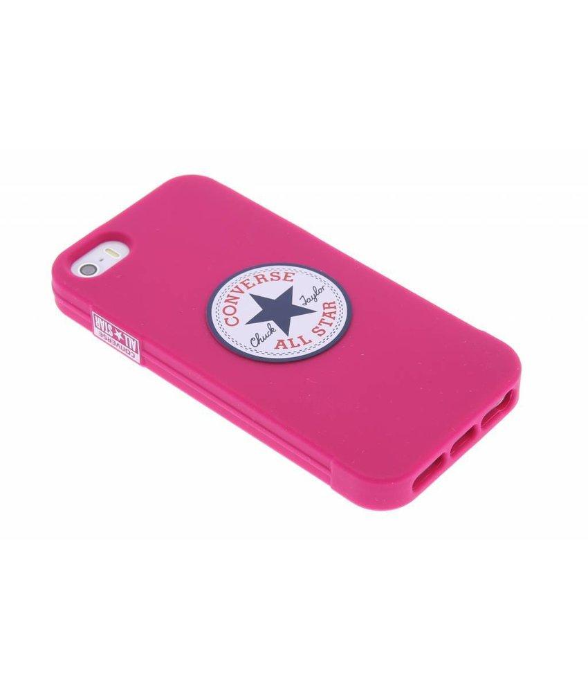 Converse Silicone Case iPhone 5 / 5s / SE - Fuchsia