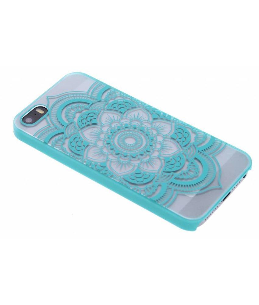 Mandala mat hardcase hoesje iPhone 5 / 5s / SE