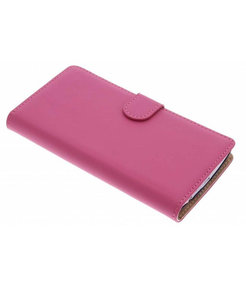 Selencia Luxe Book Case LG G4 - Fuchsia