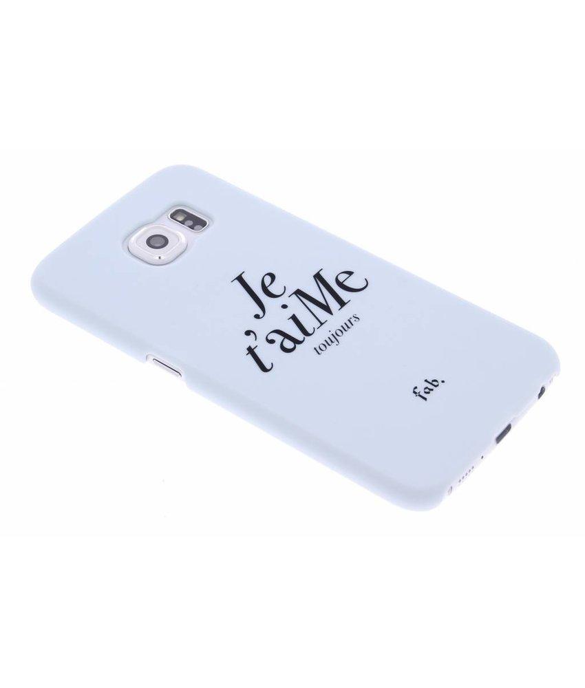 Fab. Je t'aiMe hardcase hoesje Samsung Galaxy S6