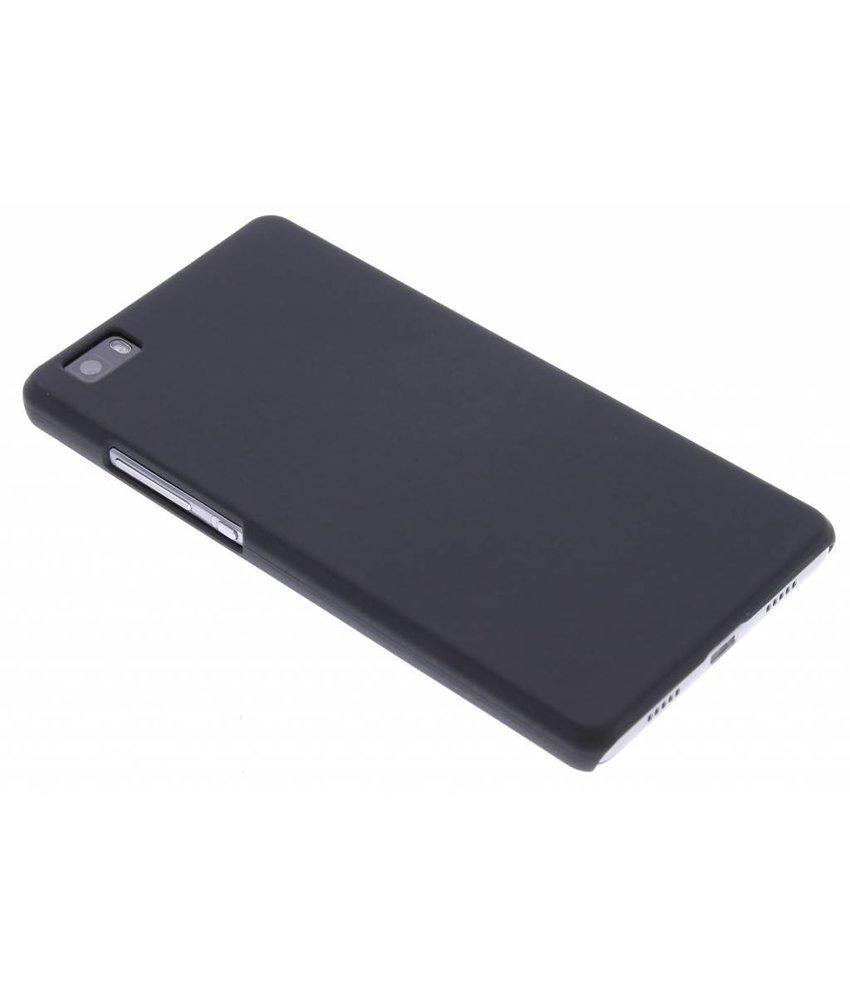 Zwart effen hardcase hoesje Huawei P8 Lite