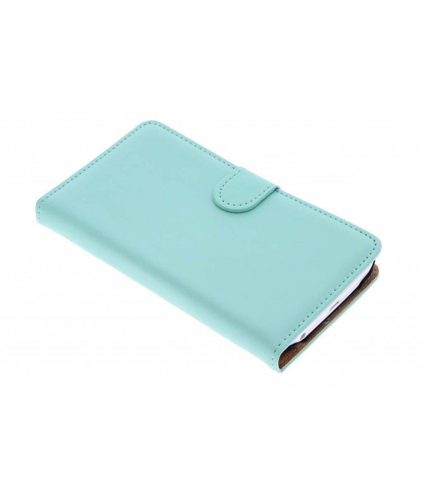 Selencia Luxe Book Case LG G2 - Mintgroen