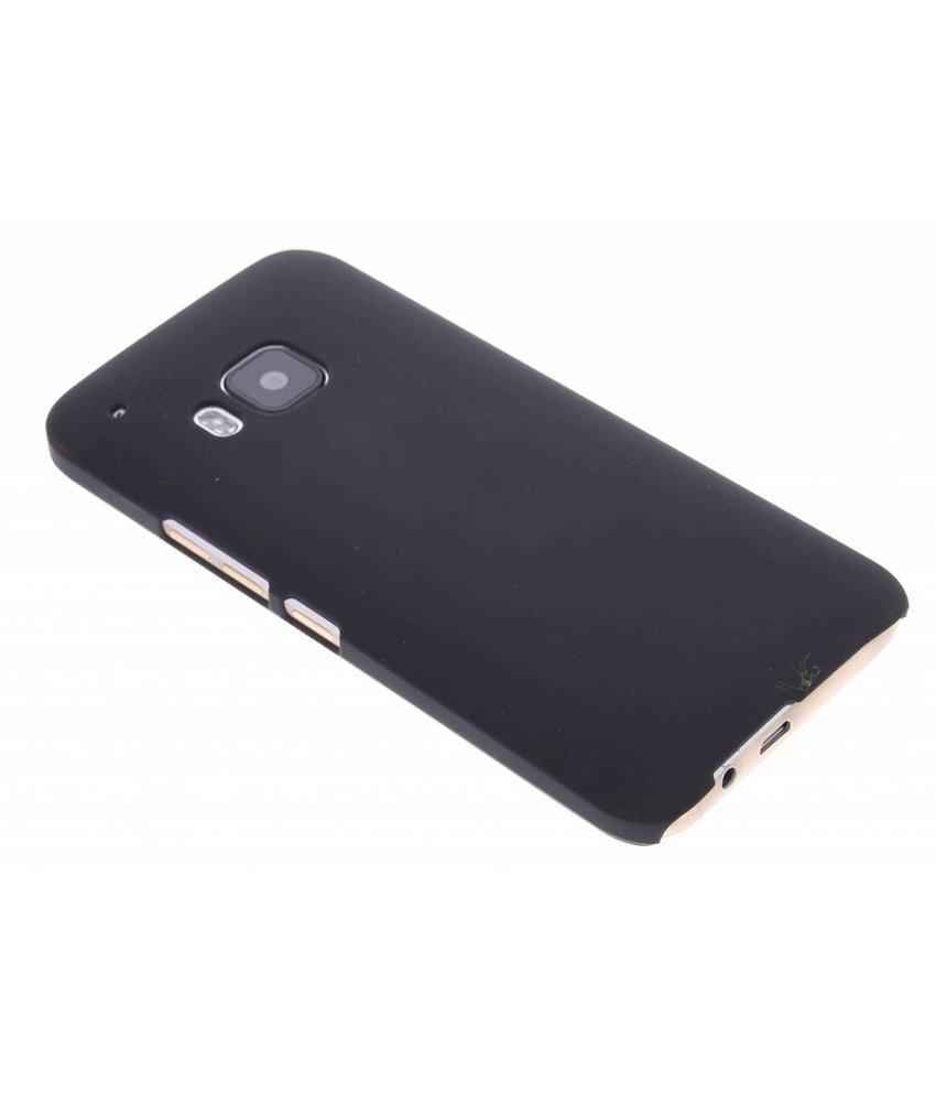 Zwart effen hardcase hoesje HTC One M9