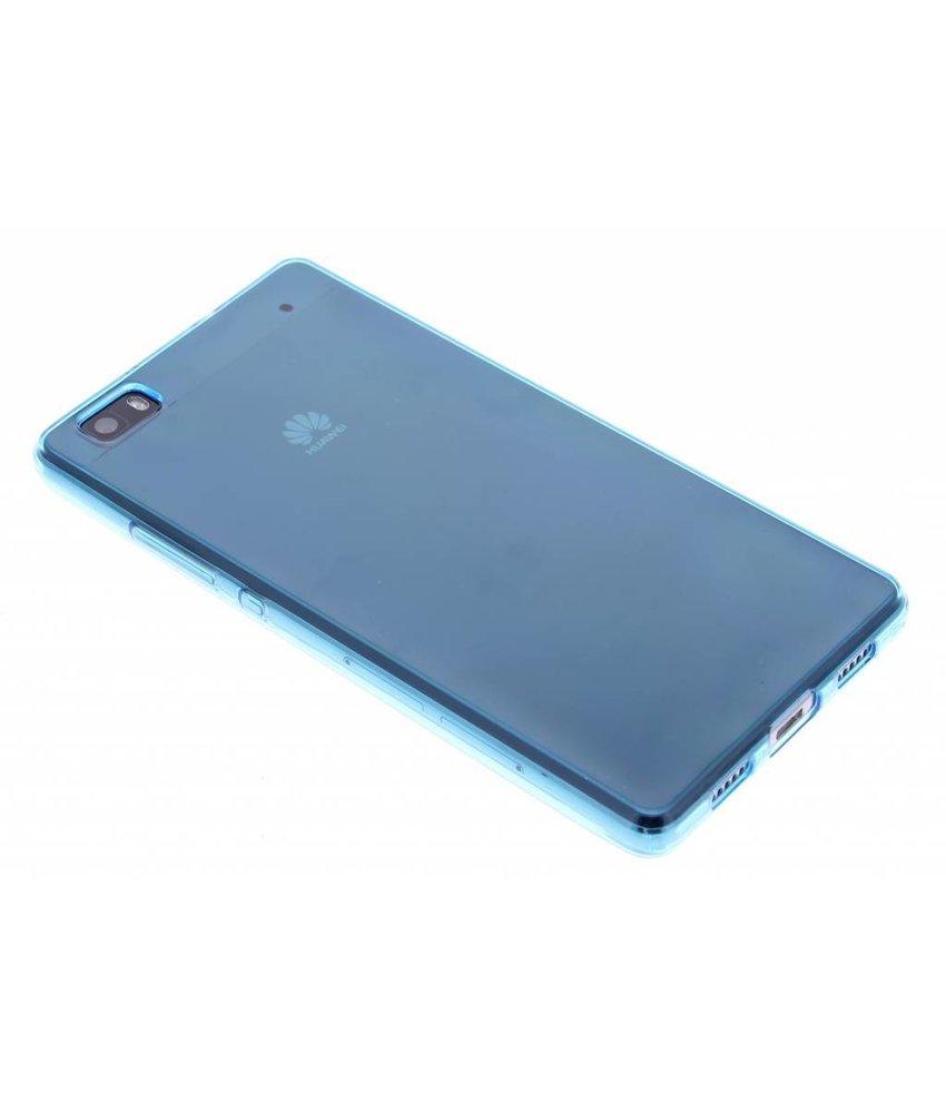 Turquoise gel case Huawei P8 Lite