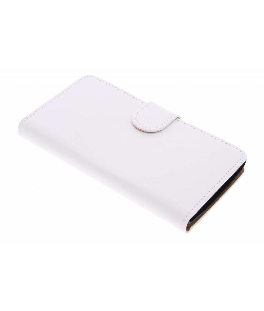 Wit effen booktype hoes LG Magna / G4c