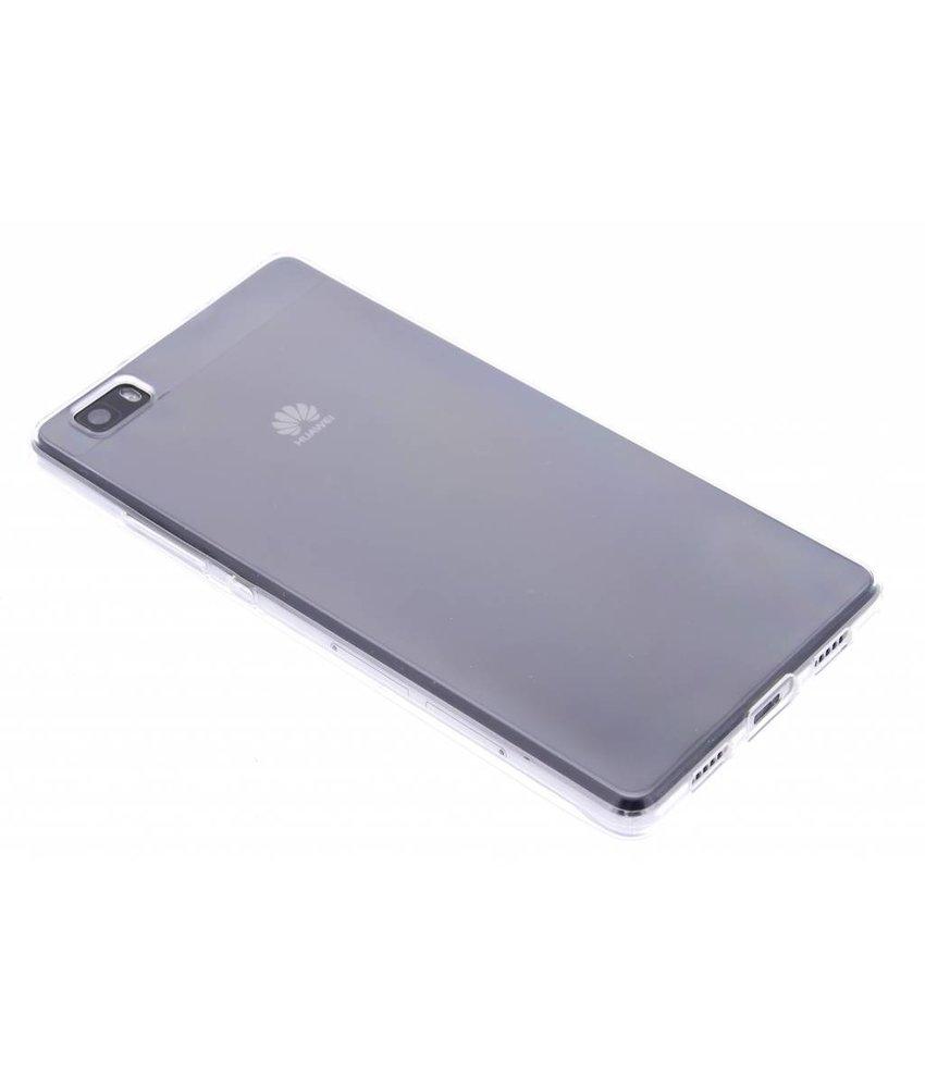 Transparant gel case Huawei P8 Lite