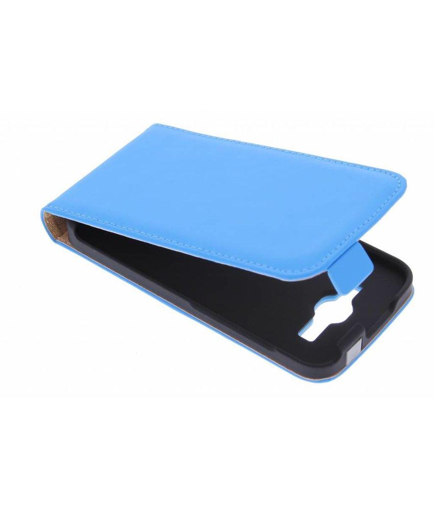 Selencia Luxe Flipcase Huawei Ascend Y540 - Blauw