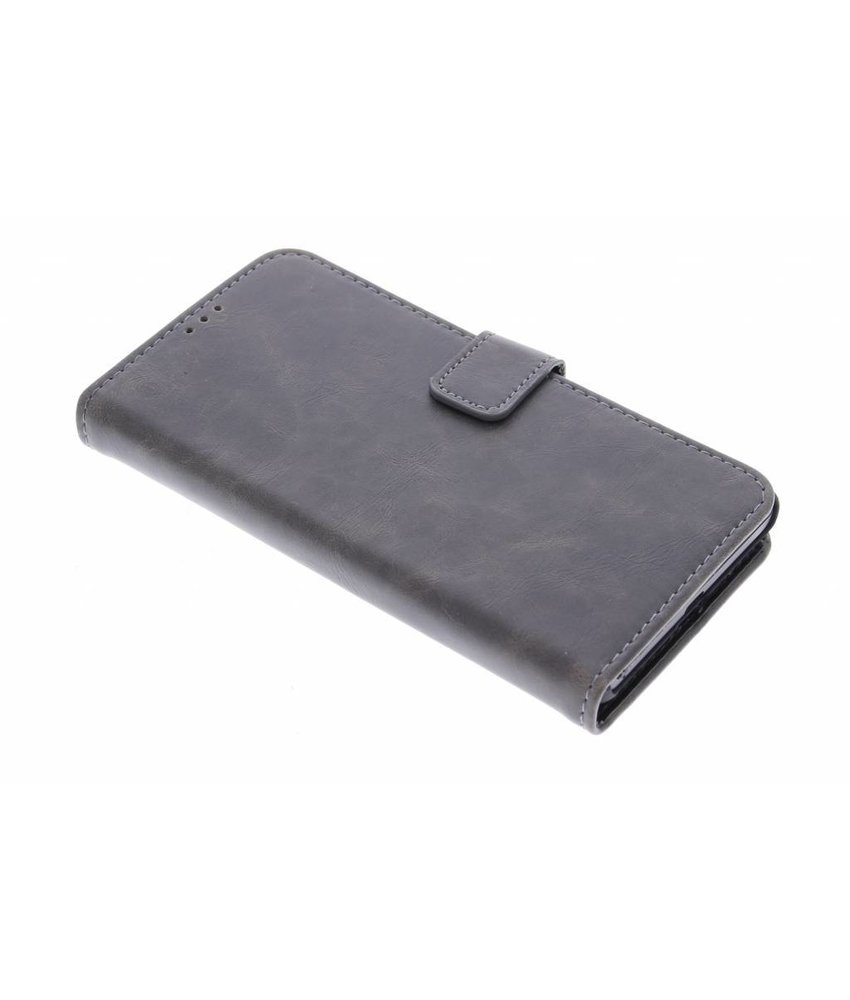 Luxe leder booktype hoes Microsoft Lumia 535