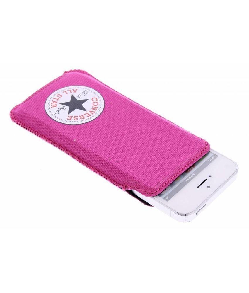 Converse Canvas Pouch iPhone 5 / 5s / SE - Fuchsia