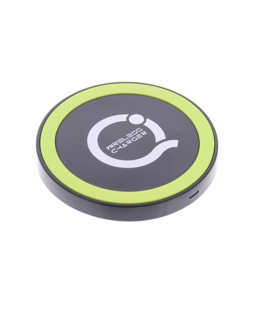 Premium Qi Wireless Charging Plate - Zwart