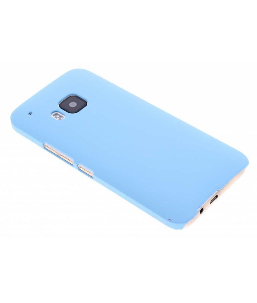 Turquoise effen hardcase hoesje HTC One M9