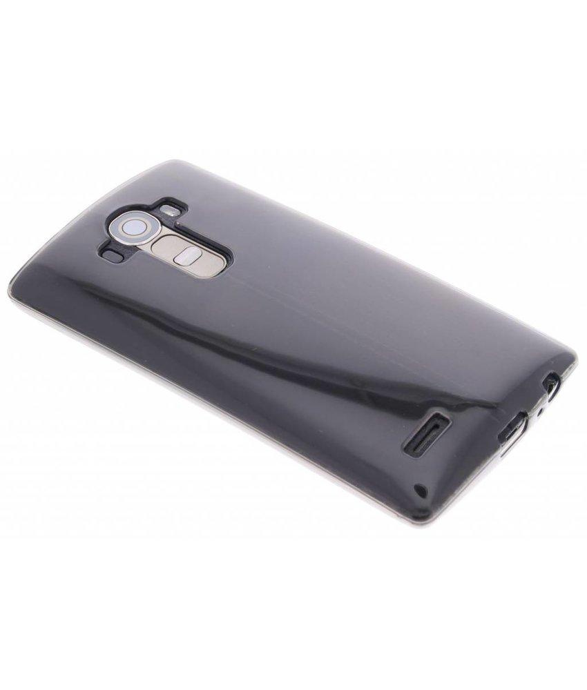 Grijs transparant gel case LG G4