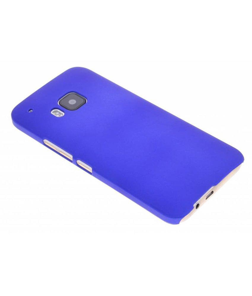 Blauw effen hardcase hoesje HTC One M9
