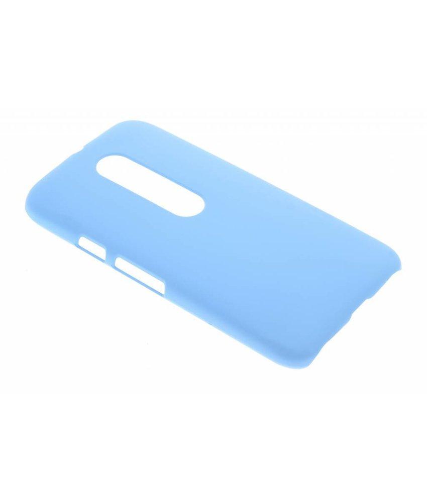 Turquoise effen hardcase hoesje Motorola Moto G 3rd Gen